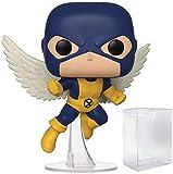 Figura de vinilo con diseño de ángel de los X-Men (incluye funda protectora compatible con caja de pop)