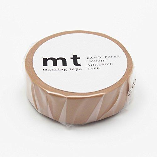 "MT Solids Washi Paper Masking Tape: 3/5""x11 yds, Cork (MT01P202)"