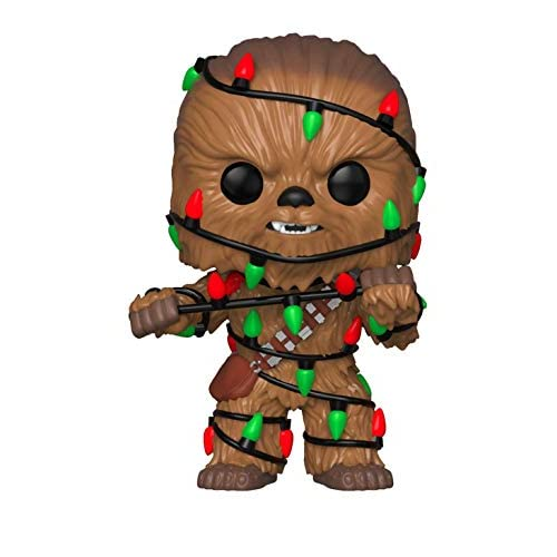 Funko 33886 POP Bobble: Star Wars: Holiday Chewbacca w/ Lights