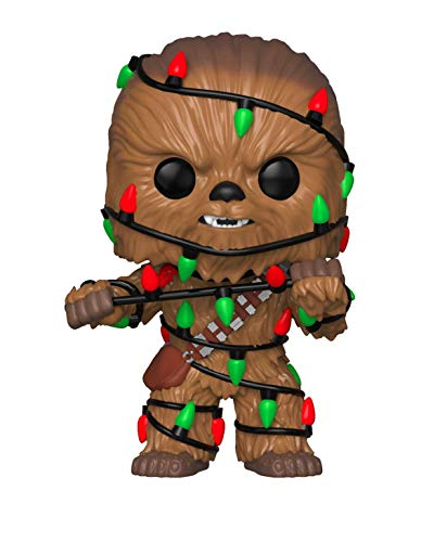 Funko 33886 POP Bobble: Star Wars: Holiday Chewbacca w/ Lights