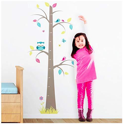 Les Trésors De Lily [Q2014 - Sticker toise 'Arbre Chouette' Multicolore - 120 cm