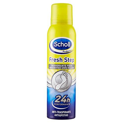 Scholl Spray Deodorante per Piedi 150 ml, Elimina Cattivi Odori