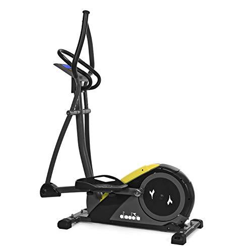 Diadora Fitness Nowa Cross, Bike Ellittica Unisex Adulto, Giallo-Nero