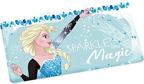 Disney Frozen 13101 Elsa Magic Brotbrett, Frühstücksbrett, Frühstücksbrettchen, Brett, Brettchen, Melamin
