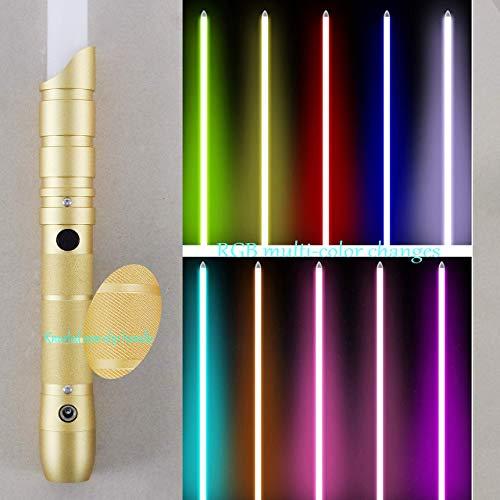 gengyouyuan Star Wars Shining Sound Toy Gift Cosplay Toy Sable de luz RGB Cambio de Color