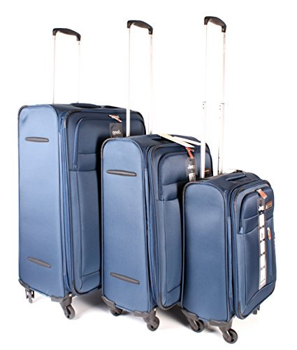 Jeep - Juego de maletas  unisex adulto azul Luggage set