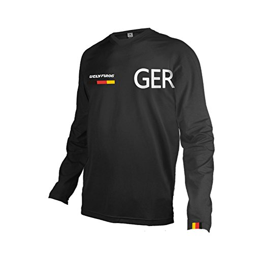 Uglyfrog 2019 Lange Ärmel Jersey Frühlingsart Motocross Mountain Bike Downhill Shirt Herren Sportbekleidung Kleidung