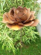 Garteninspiration Gartenstecker Beetstecker Blumenstecker Rose
