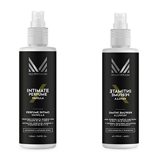 2 unidades de Desodorante genital masculino Multivitamin en formato grande de 150 ml./ud. Para un olor agradable en la zona genital. Además, cuida y mejora su piel