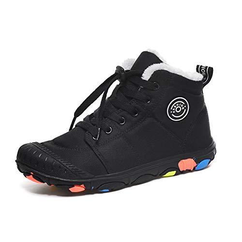Botas De Nieve De Invierno para Niños Zapatos De Algodón Cálido Botas De Nieve De Terciopelo Botas De Nieve para Niñas Niños