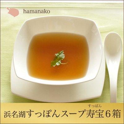 浜名湖 すっぽん 特撰 すっぽんスープ 寿宝 6箱