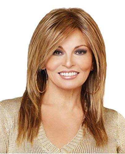 ALWAYS Synthetic Lace Front Mono-Top wig 4PC Bundle: Wig by Raquel Welch, 4oz Mara Ray Luxury Shampoo, 2-Wig Caps,19 Page Belle of Hope Guide (RL2/4)