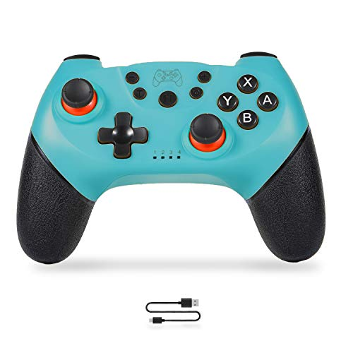 Wireless Switch Pro Controller Gamepad Joypad Remote Switch Controller Joystick for Nintendo Switch Console and PC Support Gyro Axis Turbo and Dual Vibration
