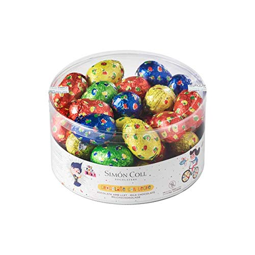 Huevos de Pascua | Simon Coll | 40 u. | Chocolate con leche sin gluten