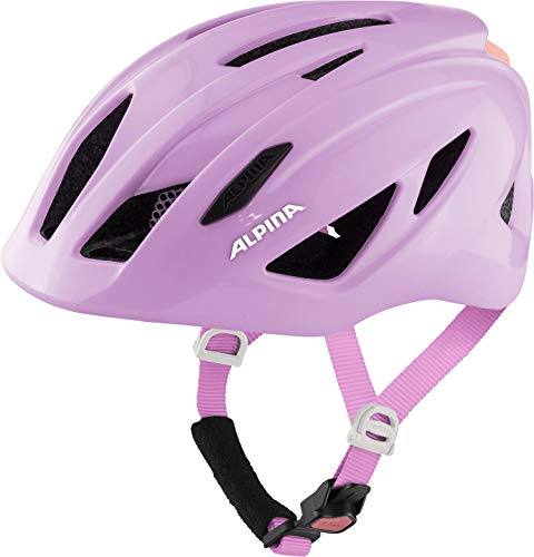 ALPINA Unisex - Kinder, PICO Fahrradhelm, rose gloss, 50-55 cm