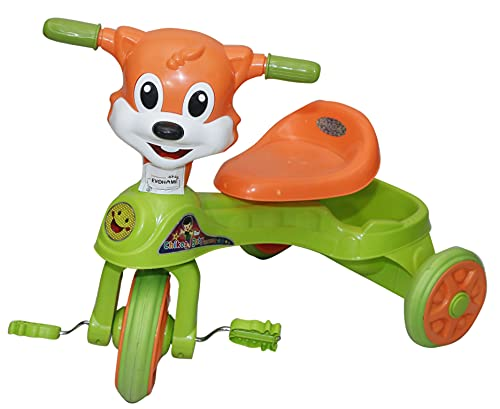 EVOHOME Baby Chikoo Rider Kids Ride On Push Car Tricycle for Children Kids Toy Ride-on, Kids Toys, Toddler Baby Toy Baby Car Suitable for Kids Boys & Girls Age 1-3 Years Old (Green)