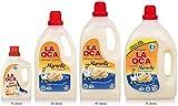 Detergente La Oca con Jabón Marsella, limpieza y protección natural… (4 Botellas 30 dosis)