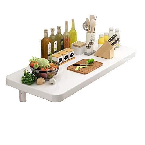 DENG Mesas De Cocina para Espacios Pequeños, Estación De Trabajo Informática Montado En Pared para El Hogar, Oficina, Cocina(Size:40×90CM)