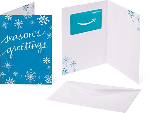 Amazon.co.uk Gift Card  - In a Greeting Card - (Christmas Snowflakes)