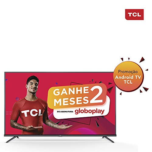 "Android TV LED 50"" TCL P8M Ultra HD 4K HDR"