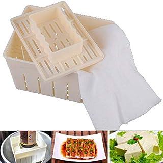Uniqus - Molde para hacer tofu con capacidad de 500 g + molde para prensar prendas