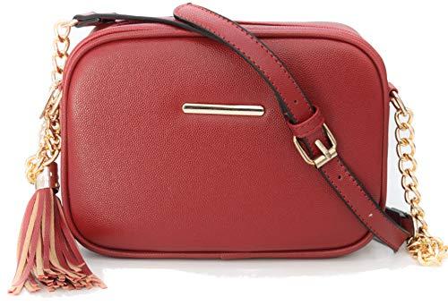 Van Der Rich  - Bolsos de hombro - Mujer (Rojo)