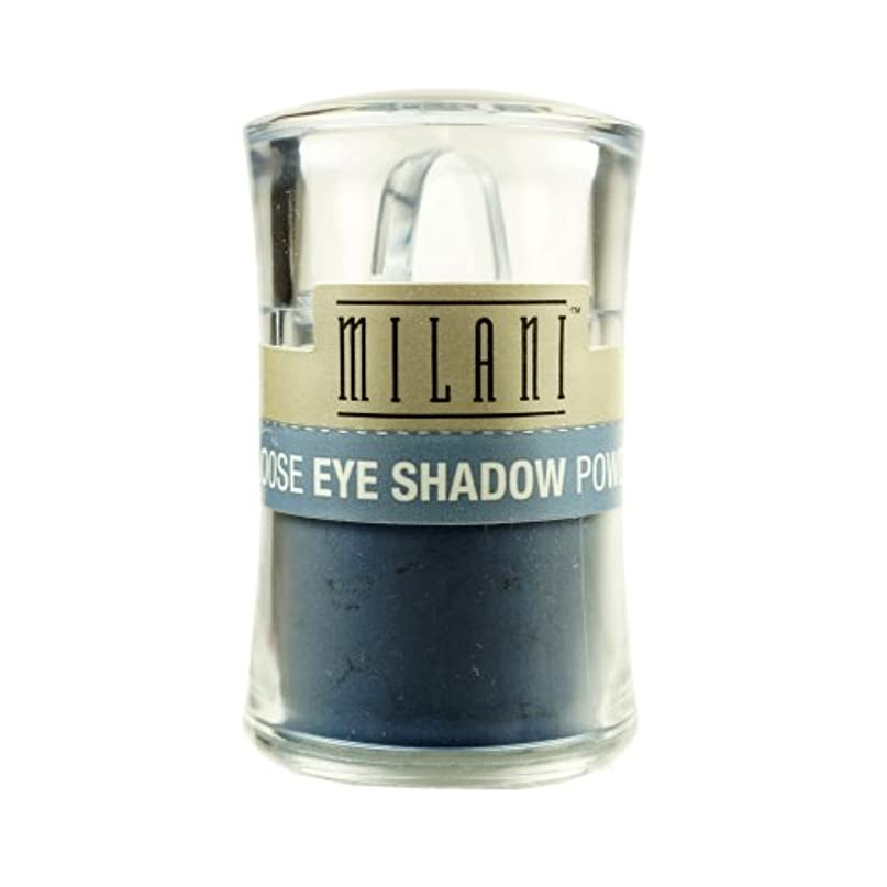 テレビ二度膨らみ(6 Pack) MILANI Loose Eye Shadow Powder - Misty Blue (並行輸入品)
