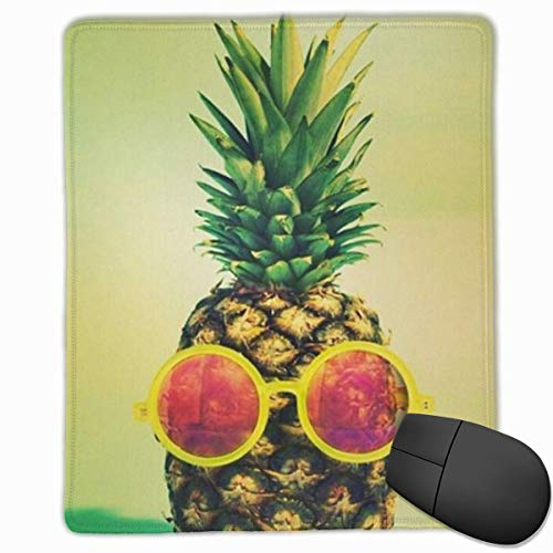 Glattes Mauspad, Coole Sonnenbrille Ananas Mobile Gaming Mousepad Work Mouse Pad Büropad
