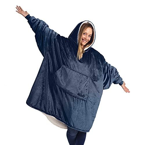 THE COMFY Original | Oversized Microfiber & Sherpa Wearable...