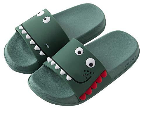 Zapatos de Playa y Piscina para Niña Niño Chanclas Sandalias Mujer de Verano 2020 Antideslizante Zapatillas EU34=Fabricante 23