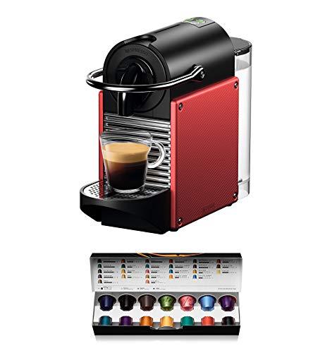 Nespresso Kaffeekapselmaschine Nespresso 19 bar mit Abschaltautomatik 2019 rot