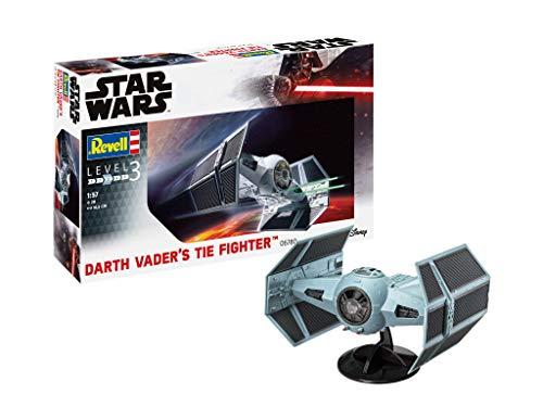 Revell- Star Wars Darth Vaders Tie Fighter 1:57 Kit Modello (06780)