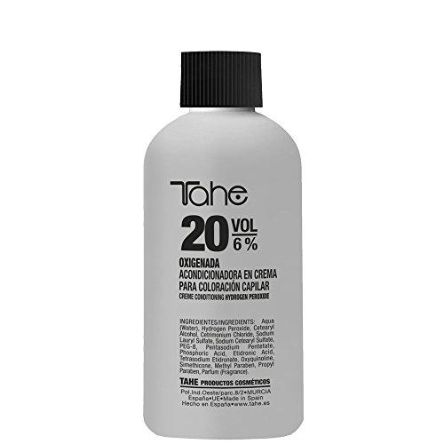 Tahe Crema Oxidante/Crema Oxigenada Activadora del Color para Coloración Capilar 20 Volúmenes, 100 ml