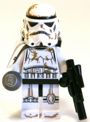 LEGO 9490 Star Wars Droid Escape Stormtrooper Minifigure White Pauldron by Lgp