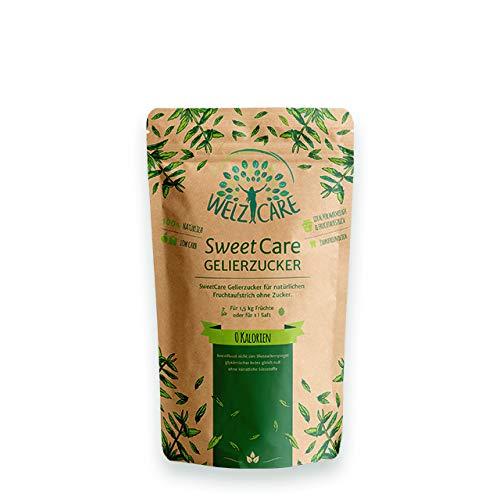 SweetCare Gelierzucker, der Zuckerersatz mit Erythritol und Stevia die natürliche Alternative zu Gelierzucker