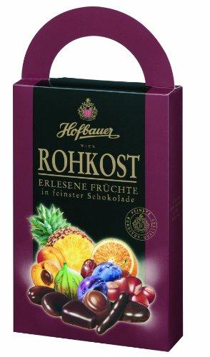 Hofbauer Rohkost,schokolierte Früchte, 1er Pack (1 x 250 g)