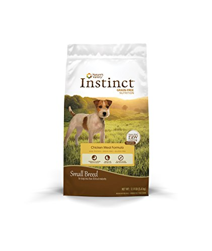 Instinct Original Small Breed Grain Free Chicken Meal Formula Natural Dry Dog Food By Nature'S Variety, 12 Lb. Bag