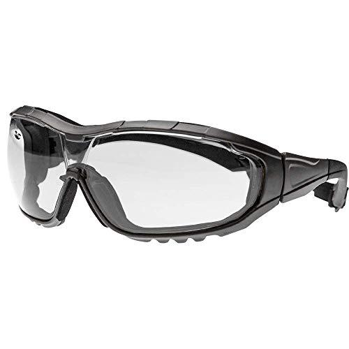 Valken Boy TAC Axis Brillen, Schwarz/Transparent, mittel