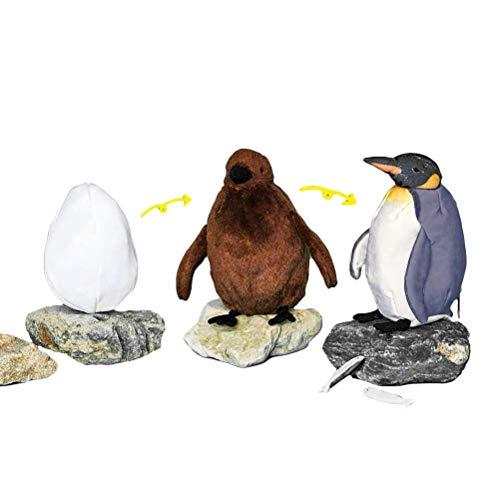 Lama Plüschtier Faultier Quallen vonshef jsmhh Pinguin-Plüsch-Münzen-Geldbeutel, nette Eier Küken Adult Penguins Geldbörse, Deformiert Penguin Puppe Spielzeug Zipper versteckte Tasche Unisex Geldbörse