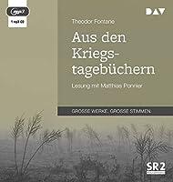 Aus den Kriegstagebuechern: Lesung mit Matthias Ponnier (1 mp3-CD)