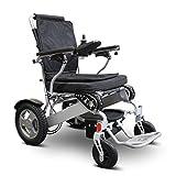 eWheels Folding Power Wheelchair with Storage Bag - EW-M45 - Lightweight Long Range 15.5miles