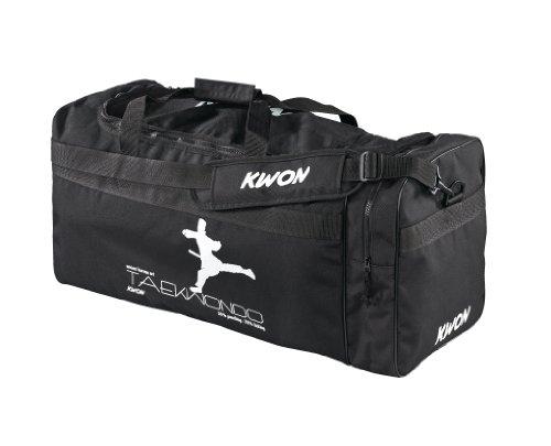 Kwon Trainingstasche Taekwondo, schwarz, 65 x 32 x 32cm, 5017006