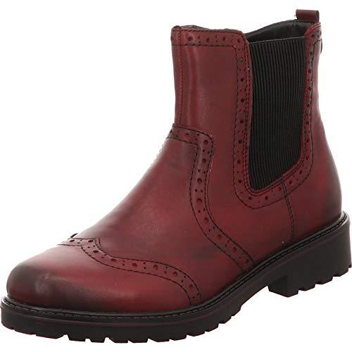 Remonte Stiefeletten in Übergrößen Rot R6573-35 große Damenschuhe, Größe:42