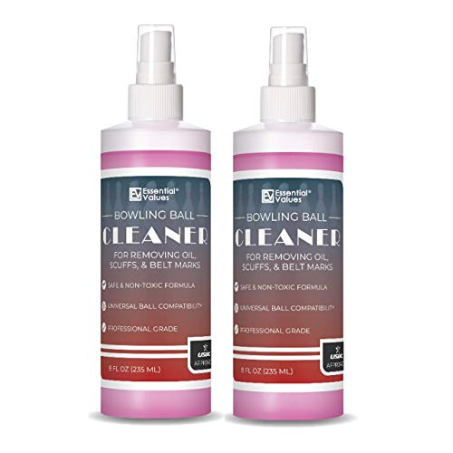 Essential Values 2 Pack Bowling Ball Cleaner (8 oz per