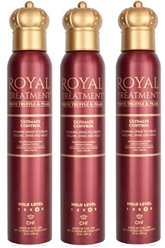 ROYAL TREATMENT ULTIMATE CONTROL WORKING HAIR SPRAY- 10 oz Pack Of 3