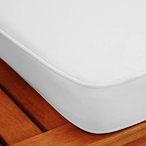 Gartenbank 2in1 ✔ mit Auflagenbox ✔ inkl Sitzauflage 120cm – Sitzbank Holzbank Parkbank Bank - 3