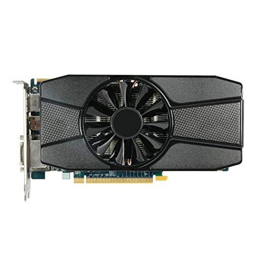 WWWFZS Tarjeta Grafica Tarjeta De Video Fit For Sapphire Radeon HD 7770 2GB Tarjetas De Gráficos GPU para AMD HD7770 2G GDDR5 Tarjetas De Video PC Gaming HDMI PCI-E X16