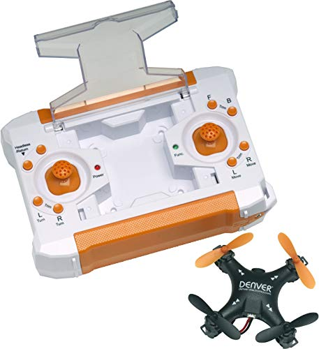Denver Electronics 117101010020 Dron de Tamaño Pequeño, Negro