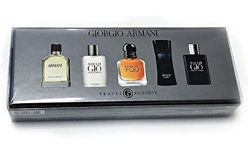 Armani 5 Piece Mini Set For Men