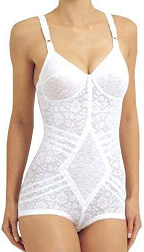 Rago Style 9057 Body Briefer Extra Firm Shaping White 38c product image